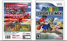 mario sports mix coloring pages 17790 mario sports mix wii box cover by agent471