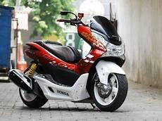 Honda Pcx Modifikasi by Bengkel Modifikasi Motor Honda Pcx