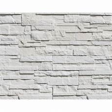 Plaquette De Parement Askja En B 233 Ton Blanc Beton Blanc