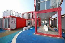 Community Center In Shanghai Made Of Shipping Containers and modern community center in shanghai made of