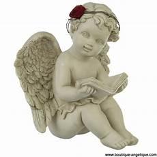 ange pour tombale figurine ange romantique avec livre boutique anges