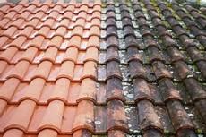 mousse sur le toit nettoyant toiture protraitement