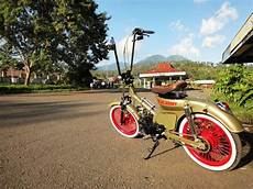 Modifikasi Honda C70 Chopper by Honda C70 Klasik Modifikasi Kumpulan Modifikasi Motor