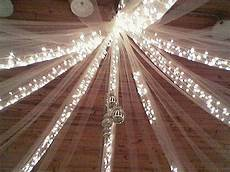 tulle wedding decorations lights carnival pinterest