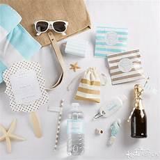 how to make easy diy beach wedding welcome bags kate