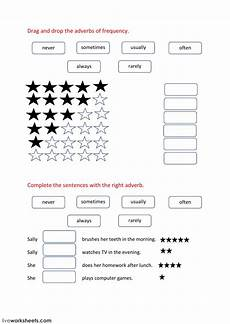 grammar worksheets adverbs of frequency 24690 adverbs of frequency interactive worksheet