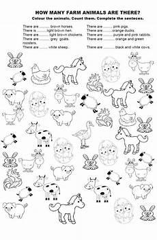 worksheets on animals for grade 1 14265 how many farm animals обучение детей вязание крючком для детей и детские игры