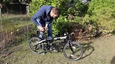 bmw mini folding bike test
