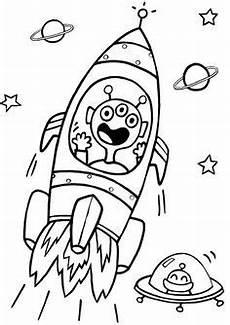Ausmalbilder Kinder Rakete Ausmalbilder Rakete Material Zum Drucken Die P
