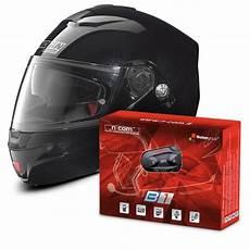 casque modulable nolan casque nolan n91 evo special n black 12 kit bluetooth b1 au meilleur prix icasque