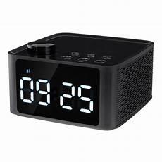 Bakeey Wireless Bluetooth Speaker Display Alarm bakeey wireless bluetooth 5 0 speaker led display alarm