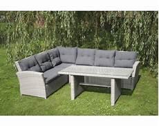 Lounge Set Polyrattan - loungeset toscane polyrotan 3 delig grijs incl kussens