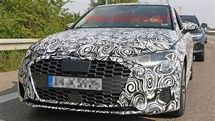 Next Generation Audi S3 Spied With Corporate Fascia  Autoblog