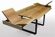 tisch mit baumkante eiche breite 100cm l 228 nge w 228 hlbar