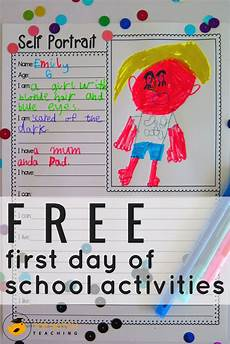 s day worksheets elementary 20348 5 free day of school activities top notch teaching