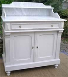 meuble armoire de toilette ancienne avec dessus marbre