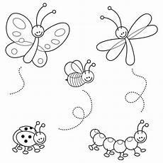 Lustige Malvorlagen Quiz Kostenlose Malvorlage Tiere Lustige Insekten Zum Ausmalen
