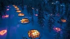 Iglu Hotel Finnland - glass igloo hotel offers stunning views of the northern