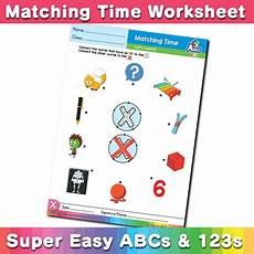 time worksheets to the hour 2900 abcs and 123s book cd dvd set bingobongo bingobongo