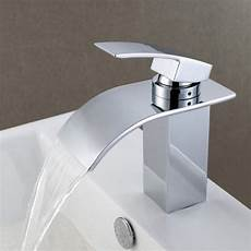 contemporary waterfall bathroom sink faucet 8061