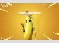 Peely Banana Skin Fortnite HD Wallpaper Theme   Chrome Web