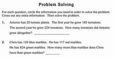 math word problem worksheets 3rd grade 11095 word problems with info 3rd grade worksheets individualized math