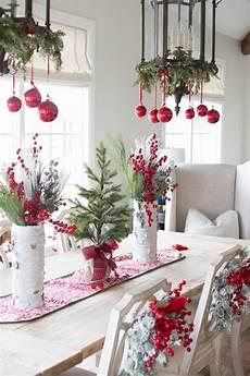 Weihnachtliche Tischdeko Bilder - tisch weihnachtlich dekorieren mit weihnachtskugeln home