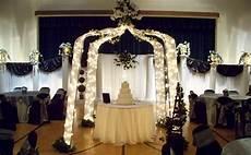simply enchanting event black white silver wedding
