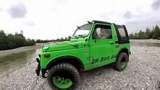 suzuki sj 413 green 1300cc road