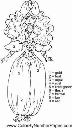 color by number princess coloring pages 18139 princess color by number page coloring pages printable coloring book fall coloring pages