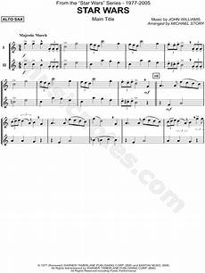 quot star wars main theme alto saxophone quot from star wars sheet music in c major download