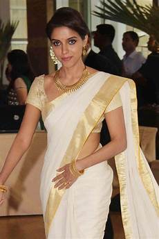 kerala saree style kerala saree white wedding sarees in kerala kerala fashion god s own