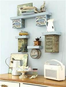 Diy Regal Aus Holz Und Tau Dekoriert Mit Unseren Produkten