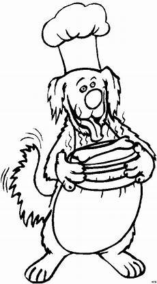 Malvorlagen Weihnachten Chefkoch Hund Als Chefkoch Ausmalbild Malvorlage Comics