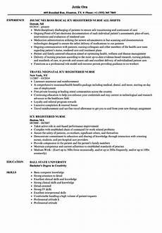 resume sle neuro icu nurse icu registered nurse resume sles velvet
