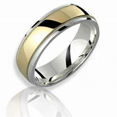 7mm 10k yellow gold 925 sterling silver mens ring