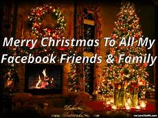 to my facebook friends and family merry christmas pictures photos and images for facebook