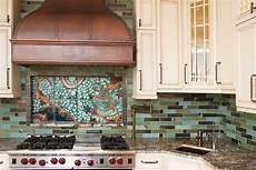 Kitchen Tile Murals Tile Backsplashes Tile Mural Kitchen Backsplash By Clay Squared To Infinity