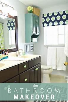 bathroom makeovers diy diy bathroom makeover reveal mad in crafts
