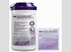 hospital disinfectant wipes