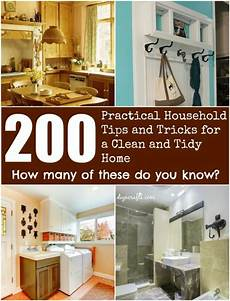 200 Practical Household Tips And Tricks For A Clean And