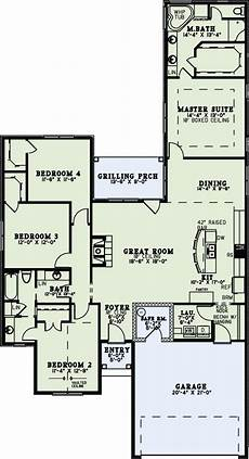 plan 73150 in 2020 ranch house plans country ranch home plan 4 bedrms 2 baths 1975 sq ft 153 2020