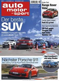 auto motor und sport auto motor und sport abo auto motor und sport probe abo