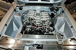 1988 Ford Mustang GT Project Hypersilver  Engine Bay