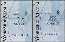 automotive repair manual 2006 lincoln mark lt user 2006 ford f 150 lincoln mark lt repair shop manual 2 volume set original