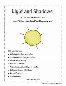 science worksheets light and shadows 12279 light and shadow a physic by catherine wood teachers pay teachers