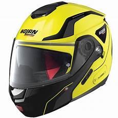 casque modulable nolan casque nolan n90 2 straton n led yellow 18 au meilleur prix icasque