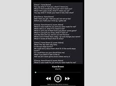 heaven lyrics kane brown song