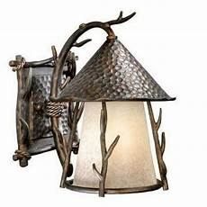 vaxcel 1 light md rustic outdoor wall l lighting fixture bronze scavo glass ebay