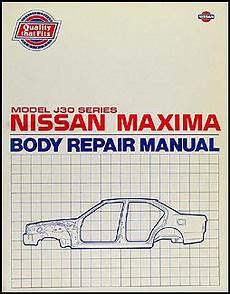 car maintenance manuals 1994 nissan maxima navigation system 1989 1994 nissan maxima body repair shop manual original